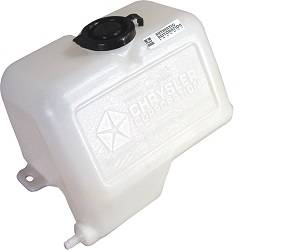 Dante's Mopar Parts - Mopar Windshield Washer Bottle - 1970-1974 A-body (for use with foot pump)