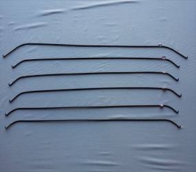 Dante's Mopar Parts - Mopar Headliner Bows -1971-1974 B-body