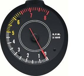 Dante's Mopar Parts - Mopar 1970-1974 E-Body Rallye 8K Tachometer Gauge