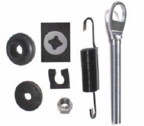 Dante's Mopar Parts - Mopar Clutch Release Rod Service Kit- E-body Small Block & 66/70 B-body Small & Big Block