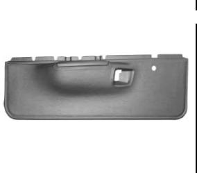Dante's Mopar Parts - 1971-1974 B-body Charger Road Runner Satellite Lower (Plastic) Door Panels - Image 1