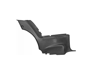 Dante's Mopar Parts - 1971-72 B-body Road Runner Satellite Charger Rear Lower (Plastic) Door Panel - Image 1