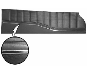 Legendary Auto Interiors - 1972 Charger Standard Bench Style Door Panel - Image 1