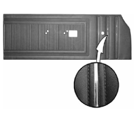 Legendary Auto Interiors - 1970 Dodge Coronet 440 and Super Bee Bench Style Door Panel - Image 1