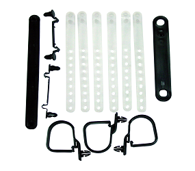 Dante's Mopar Parts - Mopar Underhood Wire Strap Kits- 1970 E-body - Image 1