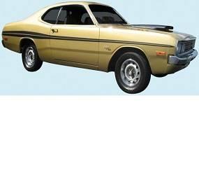Dante's Mopar Parts - Mopar Stripes - 1971 Dodge Demon - Image 1