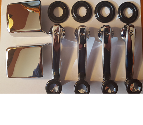 Dante's Mopar Parts - Mopar Bundle Kit Window Crank Handles & Inside Door Handles for all 1968-1974 cars - Image 1