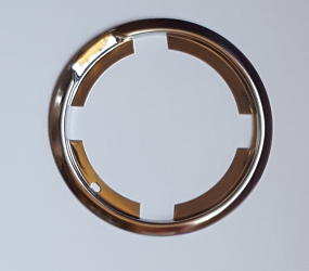 Dante's Mopar Parts - Mopar Flip Top Gas Cap Trim Ring Bezel-1970-1974 Dodge Challenger - Image 1