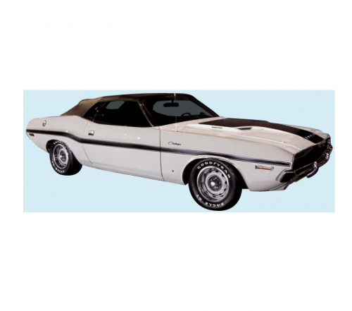 Dante's Mopar Parts - Mopar Stripe Kit 1970 Dodge Challenger - Image 1