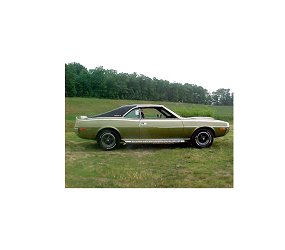 Dante's Mopar Parts - AMC Vinyl Tops-1970 Javelin 1/2 Top