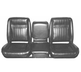 Dante's Mopar Parts - Mopar Seat Cover 1976-79 Warlock, & 1978 Midnight Express & 1978-79 'Lil Red Truck Front Bucket Seat Covers - Image 1