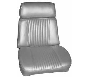 Dante's Mopar Parts - Mopar Seat Cover 1966 Chrysler 300 Bucket Seat - Image 1