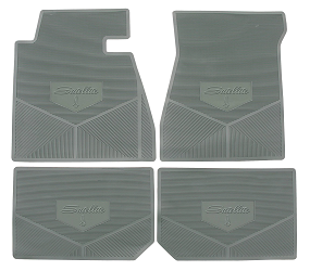 Legendary Auto Interiors - Mopar Vinyl Custom Vintage Floor Mats 1966 Plymouth Satellite - Image 1