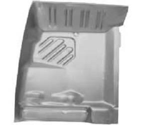 Dante's Mopar Parts - Mopar Front Floor Pan Patch RH- 1970-1974 E-body, 1971-1974 B-body - Image 1