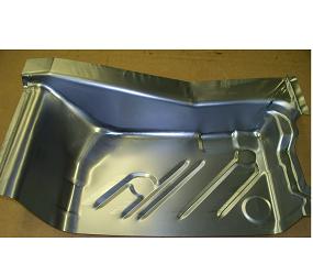 Dante's Mopar Parts - Mopar Sheet Metal Rear Floor Pans LH-1972-1973 Charger, Road Runner, Satellite - Image 1