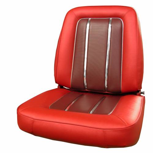 Legendary Auto Interiors - Mopar Seat Covers 1964 Plymouth Valiant Signet Front Buckets - Image 1