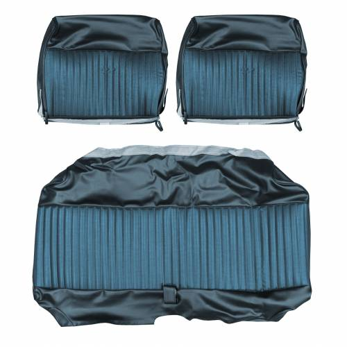 Legendary Auto Interiors - Mopar Seat Covers 1969 Dodge Dart Swinger & Swinger 340 Front Split Bench - Image 1