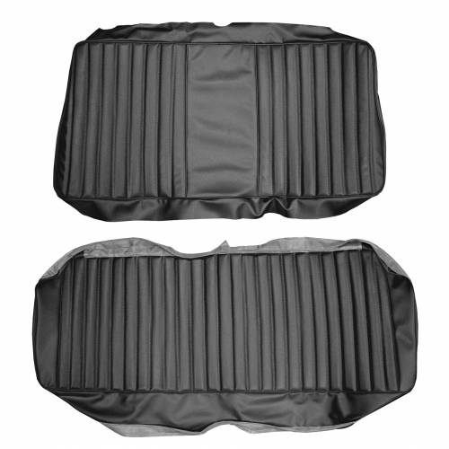 Legendary Auto Interiors - Mopar Seat Covers 1974-76 Plymouth Duster & Dodge Dart Sport Rear Fold Down Bench
