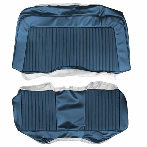 Dante's Mopar Parts - Mopar Seat Covers 1974 Plymouth Barracuda, Cuda & Dodge Challenger E-body Rear Bench - Image 1