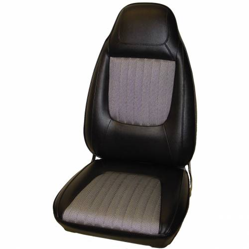 Dante's Mopar Parts - Mopar Seat Covers 1970 Challenger RT, SE & Challenger Cloth Style E-body Front Buckets
