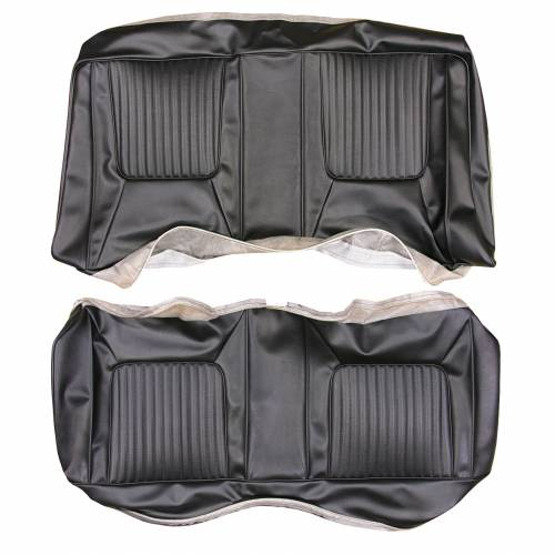 Dante's Mopar Parts - Mopar Seat Covers 1970-71 Challenger RT, SE & Challenger Leather Style Rear Bench Seat Cover (Vinyl) - Image 1