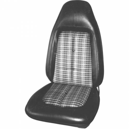 Dante's Mopar Parts - Mopar Seat Covers 1971 Dodge Challenger RT & Challenger Cloth Style  Front Buckets