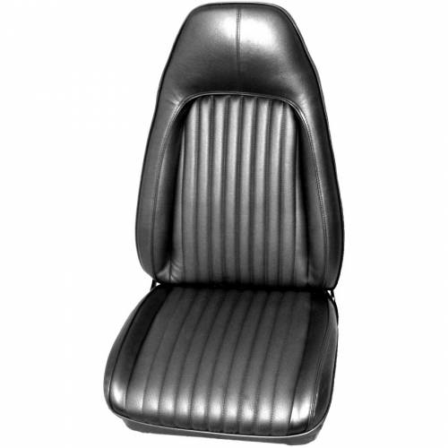 Dante's Mopar Parts - Mopar Seat Covers 1972 Plymouth Barracuda, Cuda & Dodge Challenger Front Buckets - Image 1