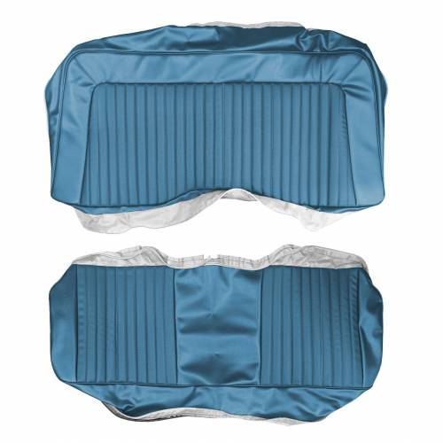 Dante's Mopar Parts - Mopar Seat Covers 1972 Barracuda, Cuda & Challenger E-body Rear Bench - Image 1