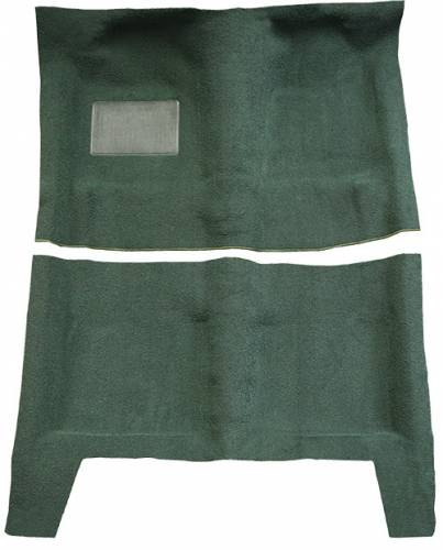Dante's Mopar Parts - Mopar Automatic Transmission Carpet 1967-1969 Barracuda Fastback (Passenger Area Only)