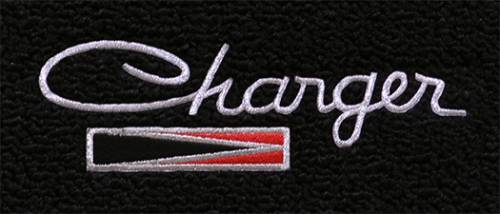 "Dante's Mopar Parts - Mopar Carpeted Floor Mats ""Charger""  Logo"