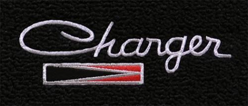 """Dante's Mopar Parts - Mopar Carpeted Floor Mats """"Charger""""  Logo - Image 1"""
