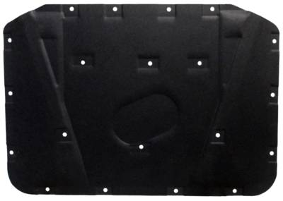 Dante's Mopar Parts - Mopar Molded Hood Pads -1971-1974 Plymouth B-body