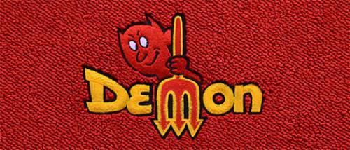 """Dante's Mopar Parts - Mopar Carpeted Floor Mats """"Demon"""" Logo - Image 1"""