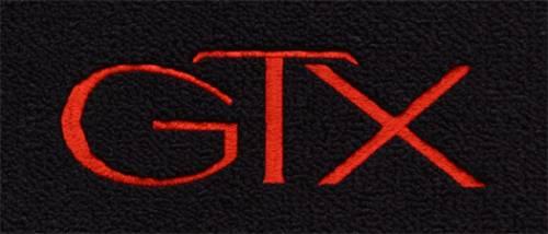 "Dante's Mopar Parts - Mopar Carpeted Floor Mats ""GTX"" Logo - Image 1"