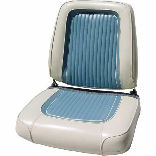 Dante's Mopar Parts - Mopar Seat Covers 1963 Dodge Polara 500 Front Buckets