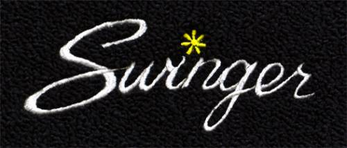 "Dante's Mopar Parts - Mopar Carpeted Floor Mats ""Swinger"" Logo"