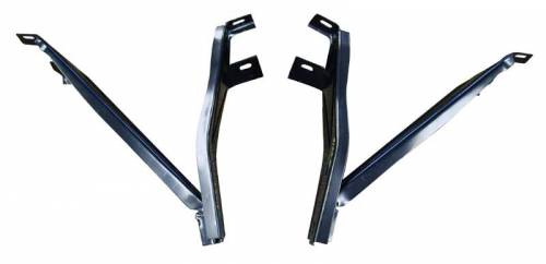 AMD-Auto Metal Direct - Mopar Front Bumper Brackets 1968-1969 Plymouth B-body GTX Road Runner Satellite - Image 1