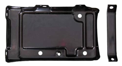 Dante's Mopar Parts - Mopar Battery Tray 62-65 B-body Includes the brace - Image 1