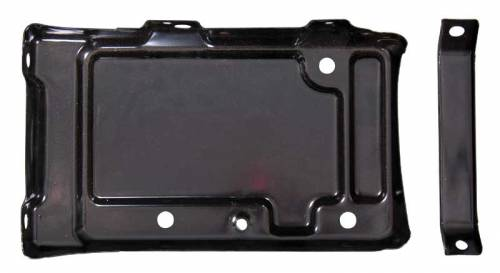 Dante's Mopar Parts - Mopar Battery Tray 62-65 B-body Includes the brace