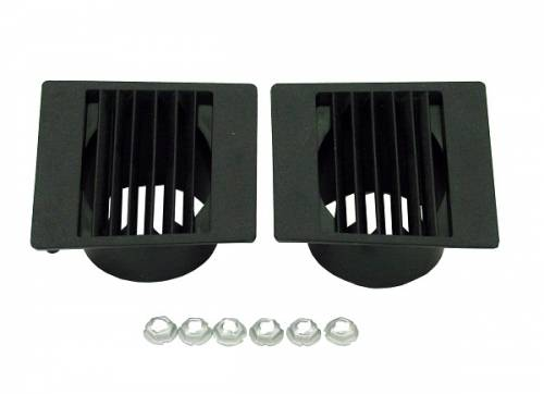 Dante's Mopar Parts - Mopar Defroster Dash Vents - 1967-1975 A-body