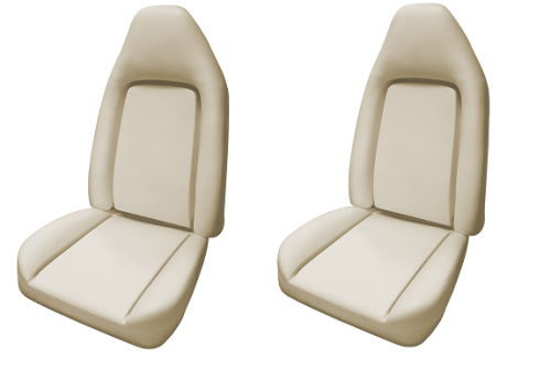 Legendary Auto Interiors - 1973-1974 Bucket Seat Foam Set E-Body Plymouth Barracuda, Dodge Challenger