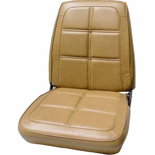 Dante's Mopar Parts - Mopar Seat Cover 1969 Charger, RT, 500 & Daytona OEM Style B-body Seat Front Buckets