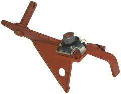 Dante's Mopar Parts - Mopar 1967-70 383 4BBL Throttle Cable Mounting Bracket