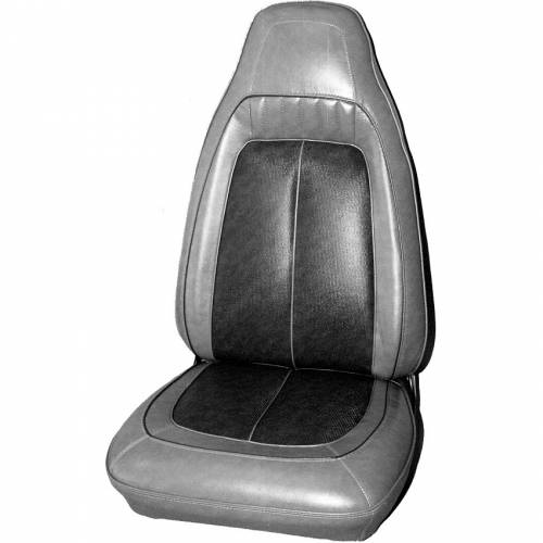 Dante's Mopar Parts - Mopar Seat Cover 1970 Sport Satellite, Roadrunner GTX & Superbird Front Buckets