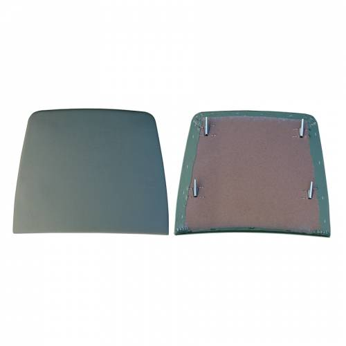 Dante's Mopar Parts - Mopar Bucket Seat Backs -1968 Plymouth Barracuda (with Deluxe Bucket Seat Covers) Seat Backs w/Clips - Image 1