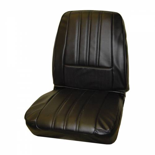 Legendary Auto Interiors - Mopar Seat Covers 1968 Plymouth Barracuda OEM Style Deluxe Style Front Buckets