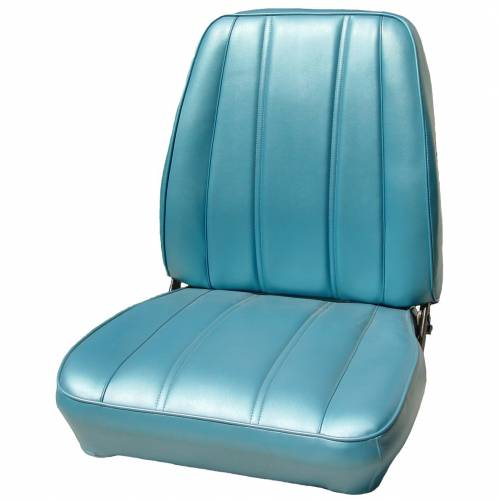 Legendary Auto Interiors - Mopar Seat Covers 1968 Plymouth Barracuda OEM Style Standard Style Front Buckets - Image 1