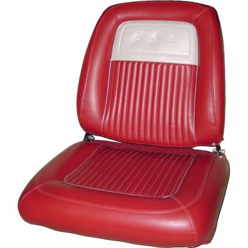 Dante's Mopar Parts - Mopar Seat Cover 1964 Plymouth Sport Fury Front Buckets