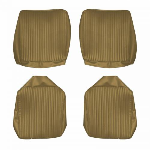 Dante's Mopar Parts - Mopar Seat Cover 1967 Dodge Charger Rear Buckets - Image 1