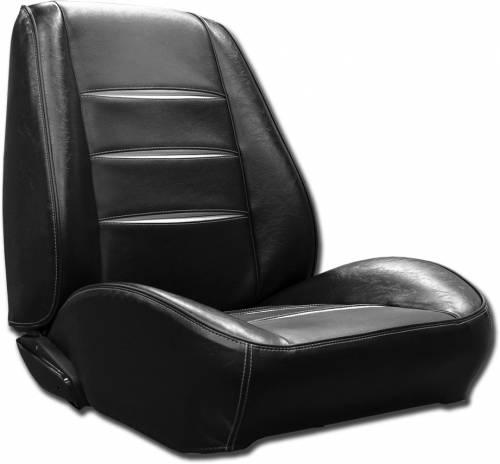 Dante's Mopar Parts - Mopar Seat Cover 1968 Charger RT & Charger RALLYE Style Front Buckets